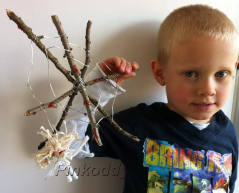 Spider and Web Kids Craft