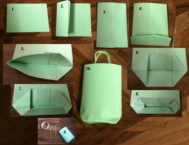 How To Make A Craft Paper Gift Bag