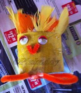 Easter Chick TRH Craft