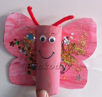 Spring Butterfly TRH Craft