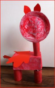 #StGeorge'sDay Red Angry Dragon Craft #Emotions