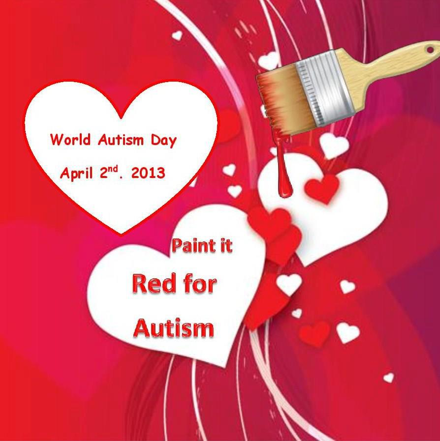 Paint it Red for Autism