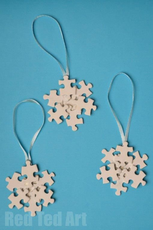 Recycled Christmas Crafts: