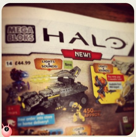 Halo Mega Bloks – am I missing the point?