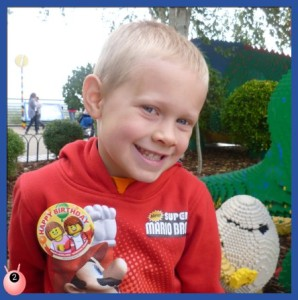 Legoland Windsor make a birthday special