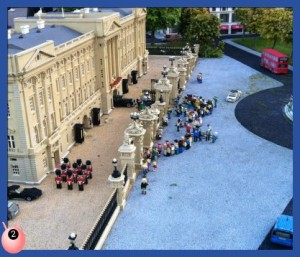Buckingham Palace at Miniland Legoland Windsor