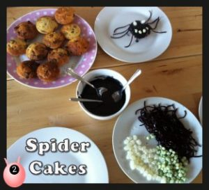 spider cakes @pinkoddy