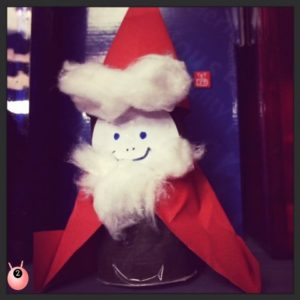 Father Christmas trh craft