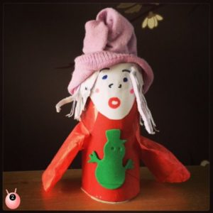 carol singer christmas trh craft