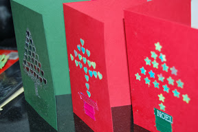 christmas cards make your own shapes