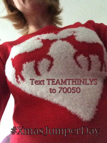 SavetheChildren #XmasJumperDay