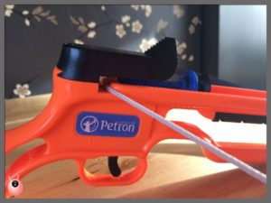 Fun Crossbow Petron Safety feature