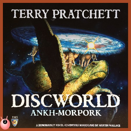 Discworld Ankh Morpork Board Game #Review