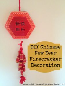 DIY Chinese New Year Firecracker Decoration