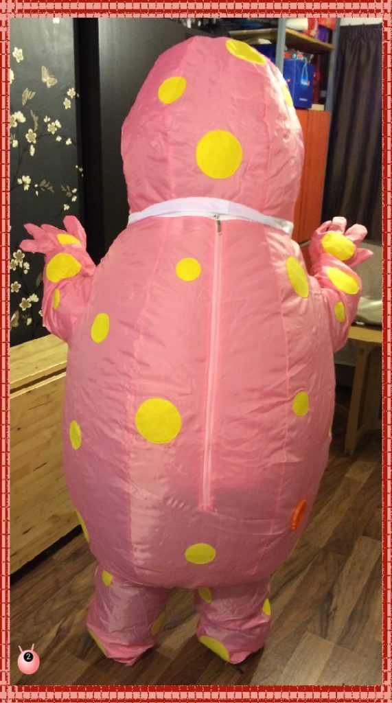 Lands End to John O Groats – with Mr Blobby #‎teamhonkrelay
