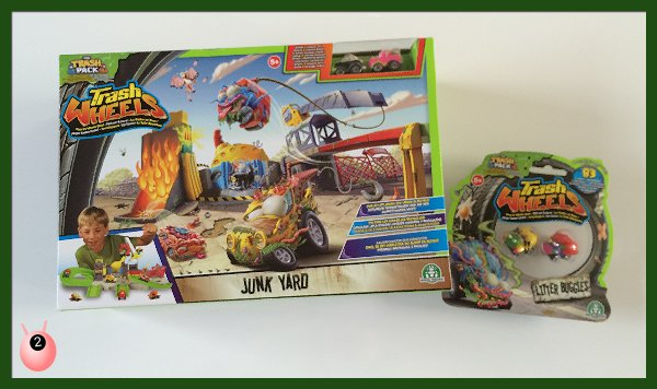 Trash Wheels Junkyard Playset & Litter Bugs #Review