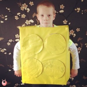 Lego Brick Costume Big Yellow Friday