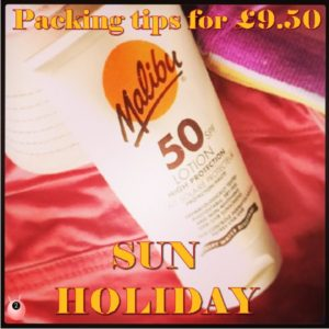 sun holiday packing tips