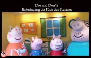 dos and donts summer kids