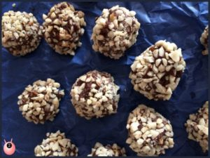 fathers day chocolate almond truffles