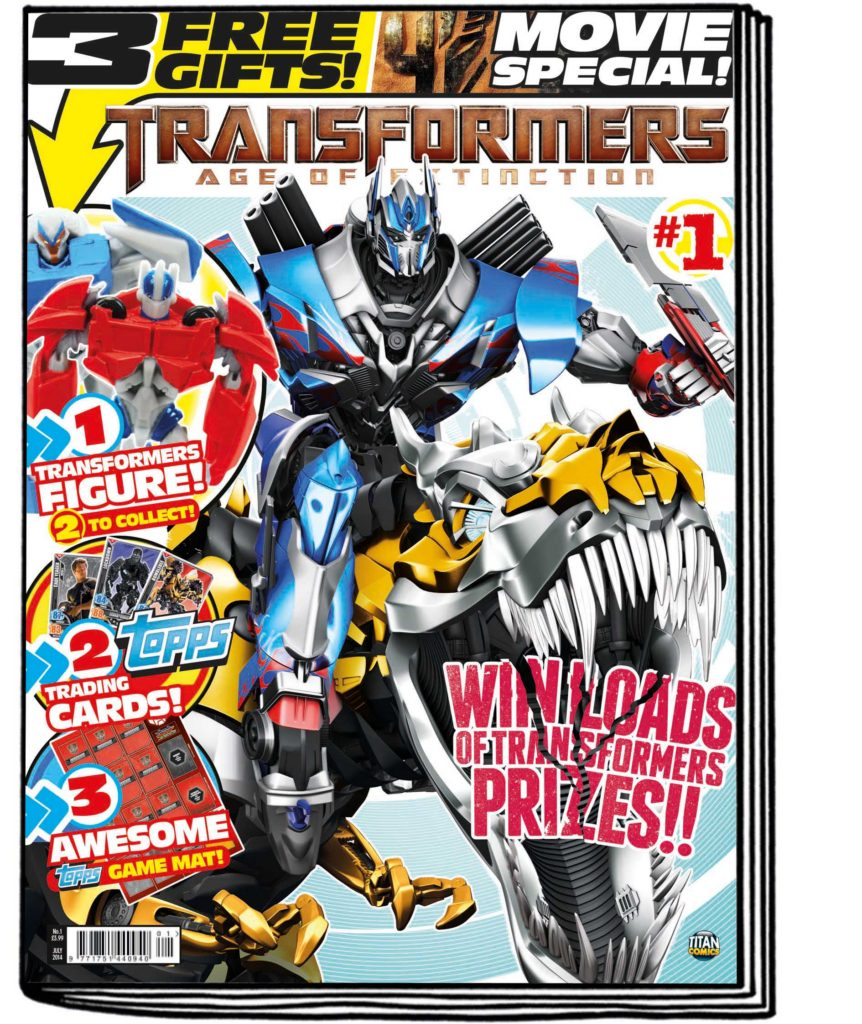 Transformers: Age of Extinction Comic Review