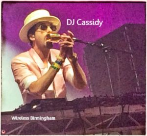 Wireless Birmingham DJ Cassidy
