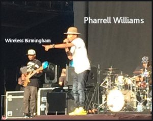 Wireless Birmingham Pharrell Williams