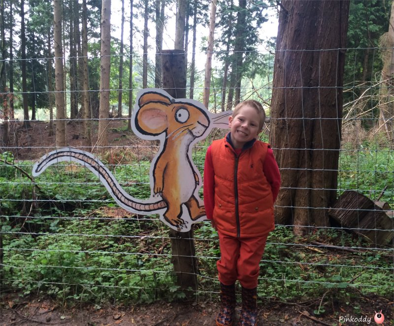 Gruffalo's Child Trail and Gruffalo App