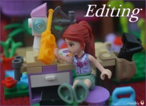 Story writing with Lego Friends Jungle Tree Sanctuary