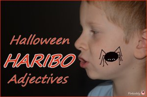 halloween HARIBO adjectives