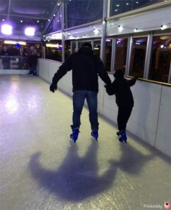 Ice-Skating at Webbs of Wychbold