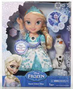 Disney Frozen Snow Globe Elsa