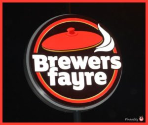 Brewers Fayre Festive Menu Review