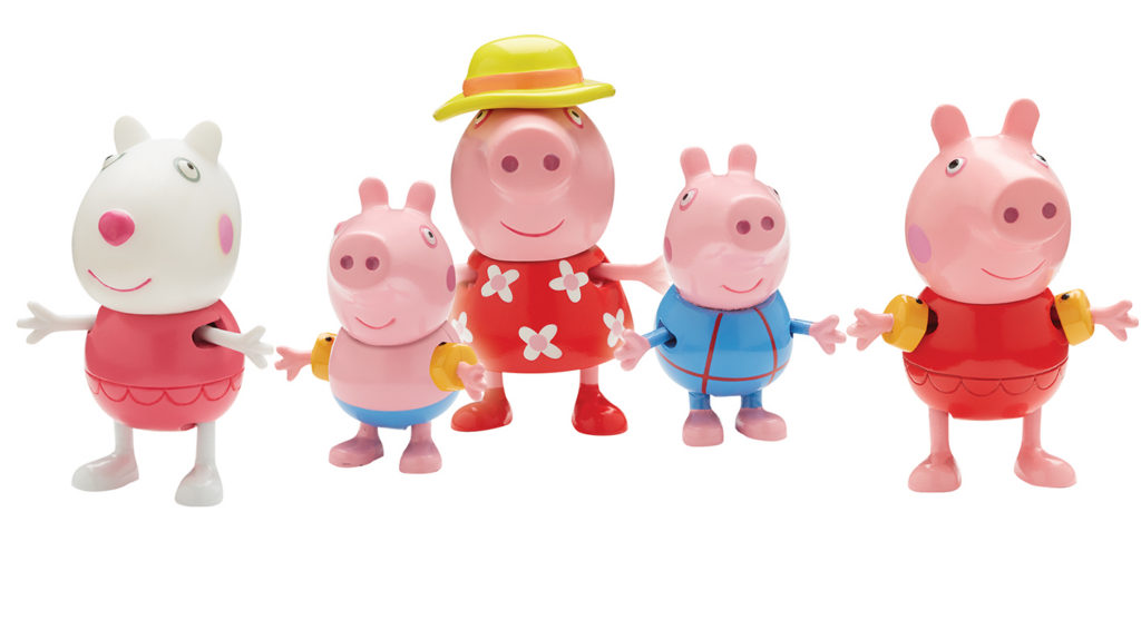 New Peppa Pig Toy Collection