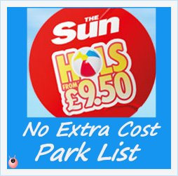 Guaranteed £9.50 Sun Holidays in the UK 2015