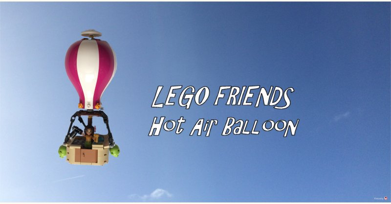 LEGO FRIENDS Heartlake Hot Air Balloon (41097)