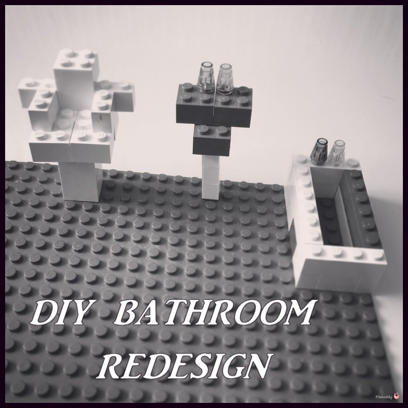 DIY Bathroom Redesign