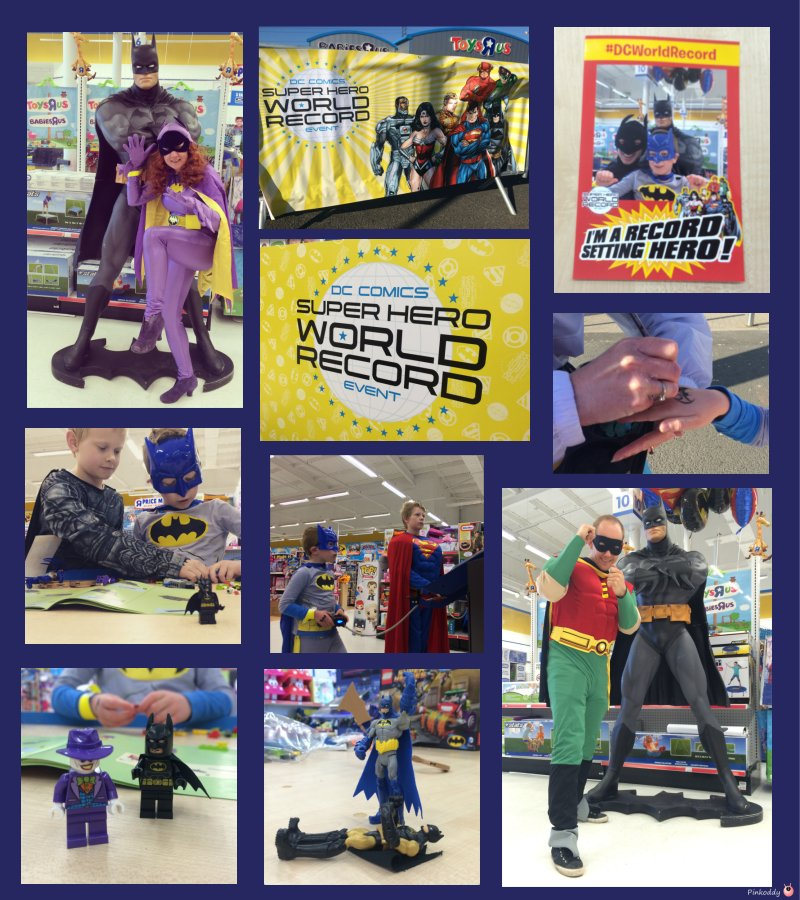Super Heroes World Record Event - Oldbury Toys R Us