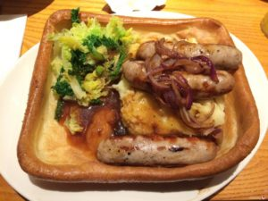 Brewers Fayre meal