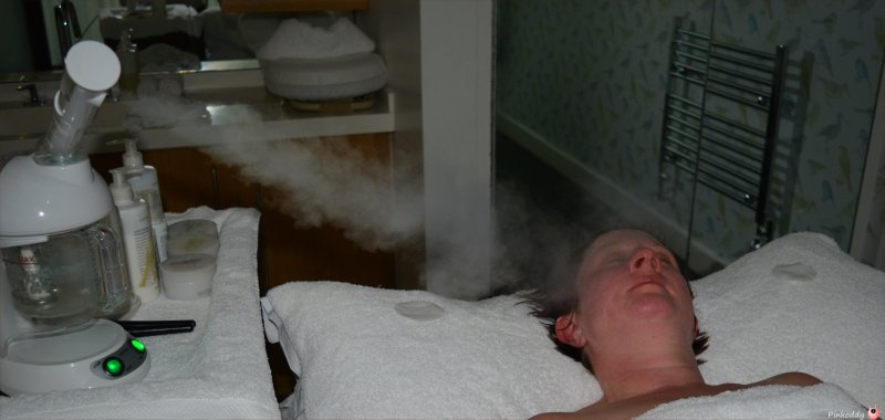 Cowley Manor Green and Spring Facial Steam