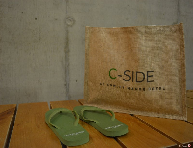Cowley Manor C-Side Spa Day Guest