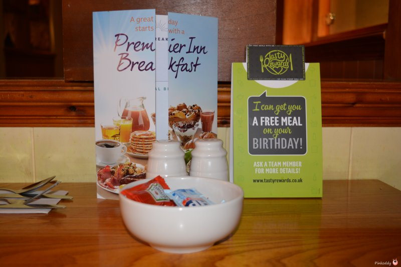 Table Table at The Oakwood Gloucester - Breakfast where Kids eat Free!