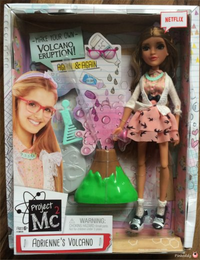 Project Mc² Adrienne Attoms' Errupting Volcano Experiment