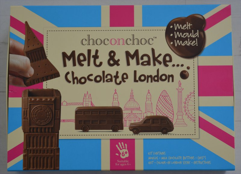 choconchoc™ Melt & Make Chocolate London kit