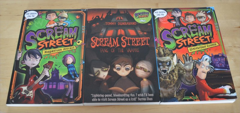 Scream Street books