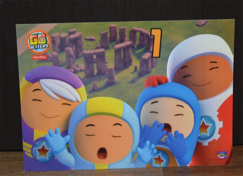 GO Jetters Landmark Hunt game