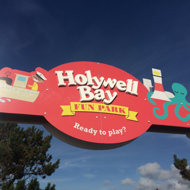 Holywell Bay Fun Park – near Newquay Cornwall