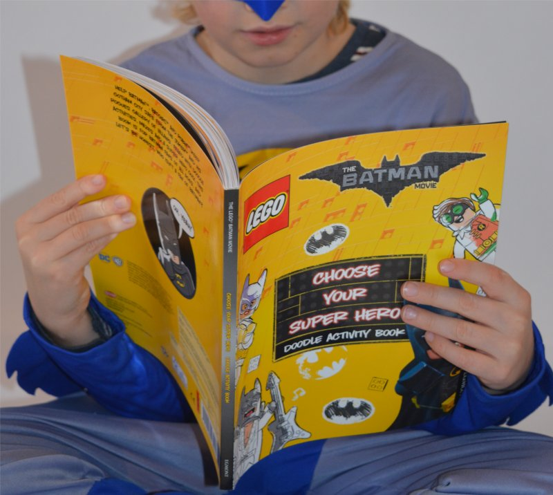 The LEGO® Batman Movie Choose Your Super Hero Doodle Activity Book