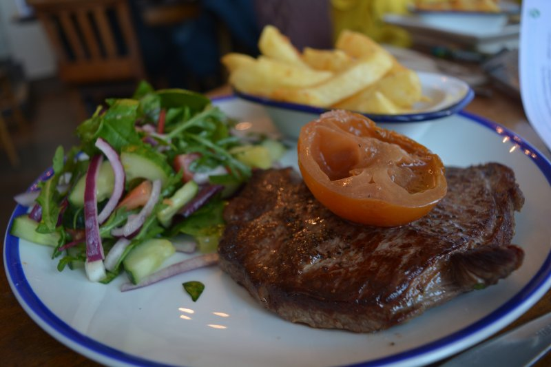 steak at Plymouth The Waterfront