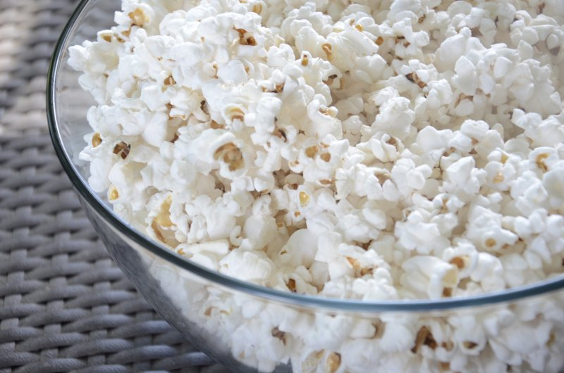 popcorn low salt lunch box filler